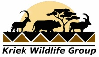 Kriek Wildlife Group - www.kriekwildlife.com